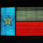 Neon Flag of Texas