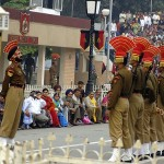 wagah border-beating the retreat