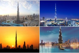 The Six Tallest Buildings in the World