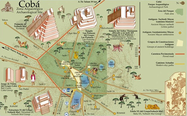 Coba Mayan Ruins - Tours, Temples & Map [New Guide ...