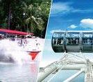 Original DUCKtours and Singapore Flyer - See Singapore 3-Ways!