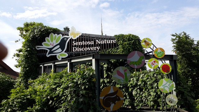 Sentosa Nature Discovery entrance